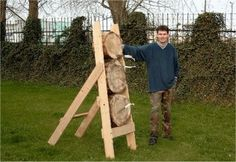 An Outdoor Knife Throwing Target from Poland. #knife #throwing #knifethrowing