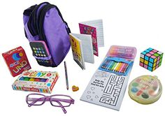 School Supplies 14 Piece Set works for American Girl Doll Accessories Our Generation Doll Accessories, My Life Doll Accessories, American Girl Accessories, Our Generation Dolls, American Girl Doll Room, American Girl Furniture, American Girl Crafts, Baby Girl Toys, Toys For Girls