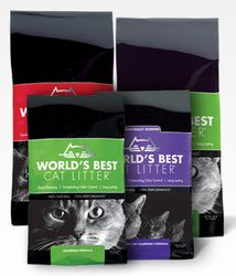 FREE After Mail In Rebate: World's Best Cat Litter!