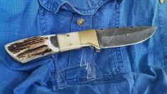 BLADE LIST - Knife, Sword, Blade FREE Classified ads: DAMASCUS STEEL MED HUNTING / SHEATH, Hunting Knives Hunting Knives Classifieds Listing Details