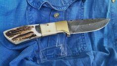 BLADE LIST - Knife, Sword, Blade FREE Classified ads: DAMASCUS STEEL MED HUNTING / SHEATH, Hunting Knives Hunting Knives Classifieds Listing Details
