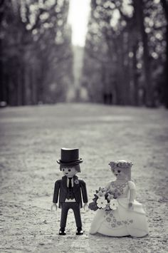 Funny Playmobil Wedding Photography on Behance