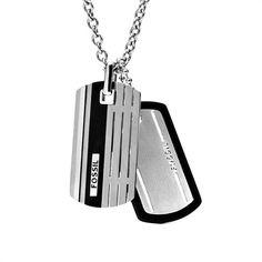Fossil Kette Mens Dress JF00494998 https://www.thejewellershop.com/ #men #fossil #kette #steel #chain #schmuck #black #silver #jewelry #herren