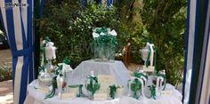 Bomboniere matrimonio con nastrini verdi