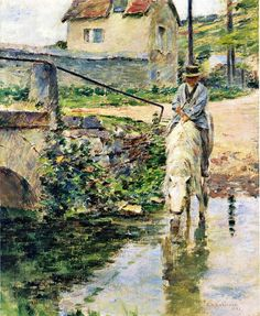 The Watering Place, 1891 - Theodore Robinson