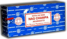Nag Champa. This pure form of sandalwood incense by the Satya Sai Baba folks is a space clearer's best friend. Smells simply divine.