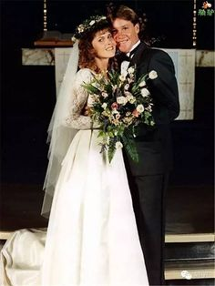 ♡♥Steve 30 weds Terri 27 on June 4th,1992 - click on pic to see a larger pic♥♡