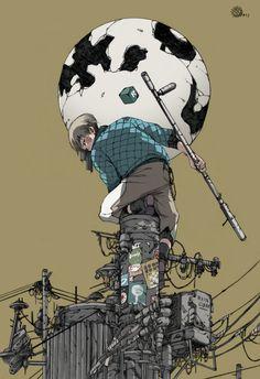 Awesome Robo!: The Art Of ThreeBar