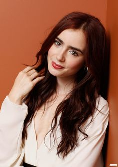 I used to HATE my thick eyebrows, but Lilly Collins has made me proud of them!