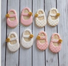 Image result for baby shoe cookie