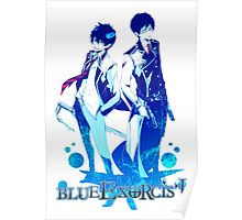 Anime: AO NO EXORCIST - Rin & Yukio Poster
