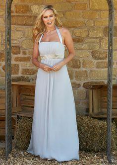 Bridesmaids, Bridesmaid Dresses, Wedding Dresses, Halter Neck, Chiffon Dress, Satin, Fashion, Bride Maid Dresses, Bride Gowns