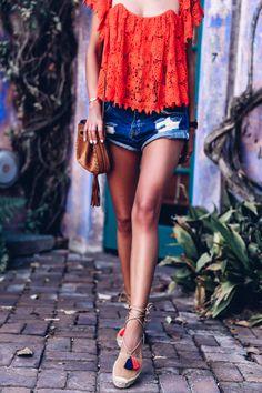 VivaLuxury - Fashion Blog by Annabelle Fleur: CROCHET CROP