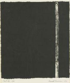 Les tableaux de Barnett Newman : vastes, monochromes, striés
