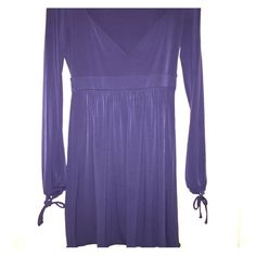 Navy size small dress Long bell sleeve navy dress size small Moda International Dresses Mini