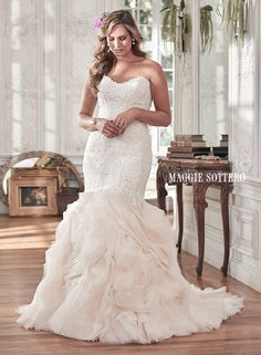 plus-size wedding dresses - Paulina by Maggie Sottero