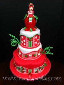 bolo moranguinho vermelho 224x300 bolo moranguinho vermelho