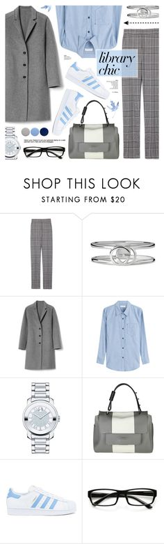 """""""Library Chic"""" by anyasdesigns ❤ liked on Polyvore featuring Alexander Wang, Gucci, Gap, Étoile Isabel Marant, Movado, Furla, adidas, ZeroUV and Burberry"""