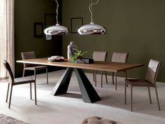 Eliot Wood Drive Dining Table