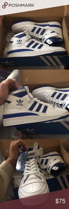 cheap for discount a4faf 622d5 Adidas forum mid refined size 10 Bought for a friend but had the wrong  size. I know his shoe size now though 😅 adidas Shoes Sneakers