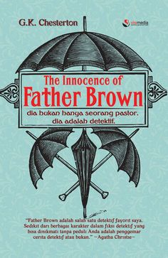 A father or a detective? Both! Indonesian edition, stories about Father Brown and his journey around Great Britain to solve some weird and extraordinary cases
