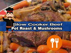 Tasty Slow Cooker Beef Pot Roast with delicious mushroom sauce. Pretty simple… but so tasty 🙂 What's better than a good beef pot roast? Answer: one that is made in the slow cooker, simply because it will ease you life so much… People use their Crock Pot for different reasons… For some, simply because you …