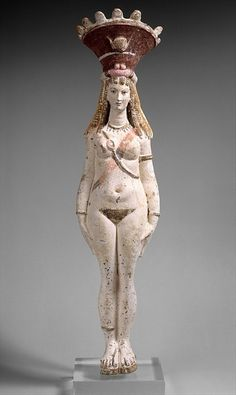 Isis-Aphrodite Figure, Egypt, 2nd century AD    i wouldn't have expected her to be so pale, or blonde! i really enjoy her bandoliers though; i wonder what the purpose of them was.