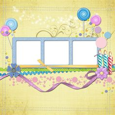 New Year Eve Scrapbook Template-Instantly Make Photo Scrapbooks