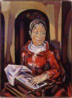 Mary Blanchard (María Gutiérrez-Cueto Blanchard)  The brodeuse (The embroidery) 1925-1926