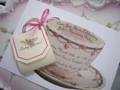Good idea for a kitchen tea party invite