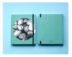 Palette - Agenda de 13x15cm de tapa dura de 100 hojas.