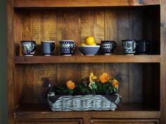 Beautiful Polish Pottery Mugs from Blue Jasmine