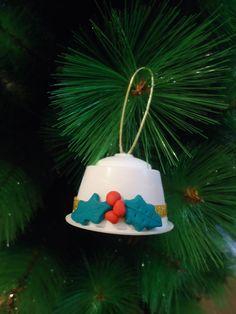 Creando Cosas Bonitas: Adornos de Navidad con cápsulas de café
