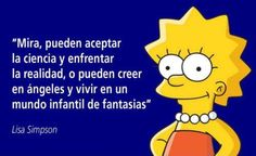Homer Simpson, Lisa Simpson, Simpsons Frases, H Comic, Carl Sagan, Sarcastic Quotes, All You Need Is Love, The Simpsons, Atheist