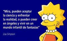 Homer Simpson, Lisa Simpson, The Simpsons, Simpsons Frases, Los Simsons, All You Need Is Love, My Love, Carl Sagan, Stephen Hawking