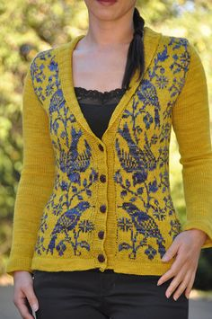 http://www.ravelry.com/projects/jettshin/nightingale by jettshin, via Flickr  oh man can't someone make me this one!!!!!!