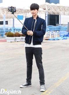 Take a selfie LOL #parkhaejin #badguys