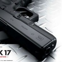 This lightweight replica of the Glock 17 is yet another great airsoft gun from long-standing manufacturers Tokyo Marui. With some nice features incorporated into it, such as the extra safety system, and an ergonomic grip, this Gas Blow Back (GBB) airsoft pistol is one of the best... - See more at: http://www.templarairsoft.com/the-armoury/#sthash.NEXVBGnP.dpuf