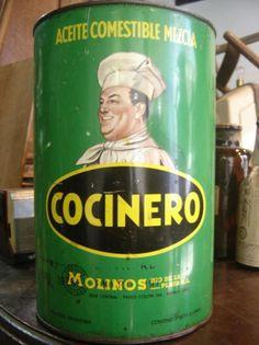 """Aceite """"Cocinero""""  (El aceite verdadero!)"""