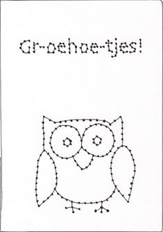 JOMMES: Zelf maken: BORDUURKAARTEN Card Patterns, Embroidery Patterns, Stitch Patterns, Cute Cards, Diy Cards, Hilograma Ideas, Cross Stitch For Kids, Diy Presents, Pencil Bags