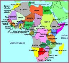africa map and facts