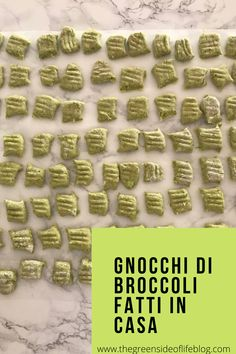 Gnocchi di broccoli deliziosi fatti in casa e pronti in pochi minuti Gnocchi, Breakfast, Food, Home, Morning Coffee, Essen, Meals, Yemek, Eten