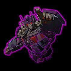 "Nemesis Prime ""digitized"" by Robby Musso at REX-203.deviantart.com on @deviantART  #Transformers"