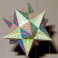 This site features a few hundred paper models available to freely print out and make your own awesome polyhedron shapes...http://www.korthalsaltes.com/index.html