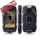 ﹩69.99. Unlocked Smartphone Quad Core Rugged Android Shock/WaterProof Cell Phone JEEP Z6    Network - Unlocked, Contract - Without Contract, Operating System - Android, Storage Capacity - 4GB ROM, Style - Touch Screen, Features - 3G Data Capable, Camera Resolution - 5.0MP, Bundled Items - Adapter, Cable, Cellular Band - 3G: WCDMA 2100MHz, Screen Size - 4.0 inch, Lock Status - Network Unlocked, Processor - Dual Core, RAM - 512MB, Carrier - Unlocked