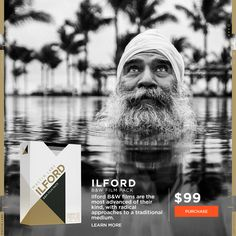 Mastin Labs film accurate Ilford B&W presets for Adobe Lightroom. Includes: Pan F, HP5, and Delta 3200. | $99 #presets #lightroom #adobe #mastinlabs