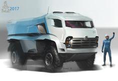 2017 Kamaz Dakar Truck Concept | Automotive Inspiration