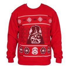 Star Wars Darth Vader Ugly Christmas Sweater Crewneck Sweatshirt #empire #xmas #party #rebel #stormtrooper