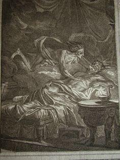 Ersichthon on his deathbed.