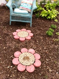 Our Garden Path: Paver Flowers